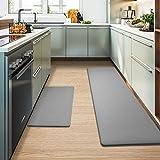 Color&Geometry Kitchen Rugs, Kitchen Rug Set 2 Piece Kitchen Runner Rug Kitchen Floor Mat, Cushioned...