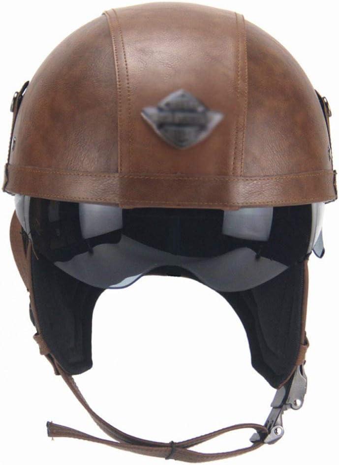 Motorcycle Helmet Half DOT Unisex National products Ha National products Certification Certified