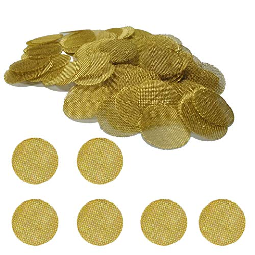 Gold Lion Gear Grimm SUPA 50 Brass Pipe Screens | 3/4