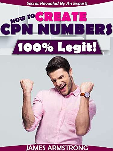 HOW TO CREATE CPN NUMBERS 100 LEGIT THE WHOLE TRUTH ABOUT CPN NUMBERS product image