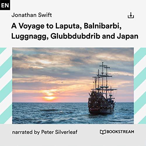 A Voyage to Laputa, Balnibarbi, Luggnagg, Glubbdubdrib and Japan cover art