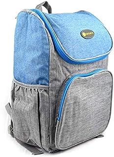 حقيبة ظهر قماشية متعددة الاستخدام ازرق رمادي A multi-use canvas backpack Grey Blue