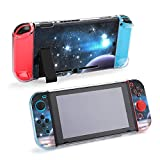 スノーボード宇宙宇宙銀河惑星 Galaxy 防砕けて Nintendo Switch 対応 カバー、switch 対応 カバーラウンドなシリコーン保護カバー 任天堂スイッチ カバー 対応 アクセサリ