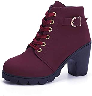 Chelsea laarzen voor dames, winter, hoge hakken, modieus, casual, warm gevoerd, comfortabel, antislip, maat 35-41