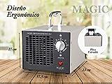 MAGIC SELECT Maquina De Ozono 3.500 MG/h Generador de Ozono Purificador de Aire Profesional y Potente con Placa Extraible y Temporizador Amplia Gama De Usos