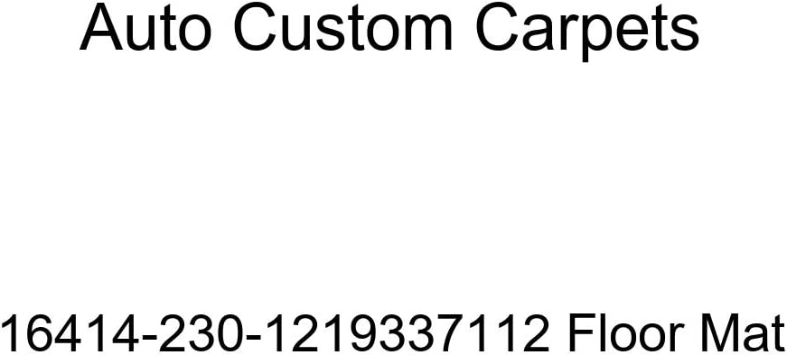 Auto Custom Carpets Max 81% OFF Ranking TOP5 Floor 16414-230-1219337112 Mat