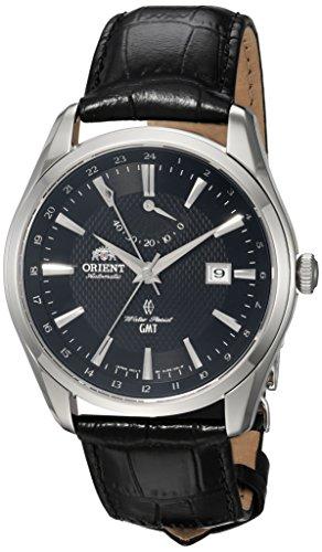 Orient Polaris automatico GMT (Dual Time) con cristallo zaffiro e di...