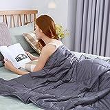 Gewichtsdecke Bettdecken Kuscheldecken Weighted Blanket Schwere Gewichtete Decke Anti Stress Ideal...
