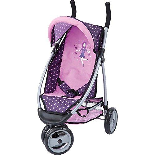Bayer Design 39975AA bambole Jogger sport, viola, rosa tenue