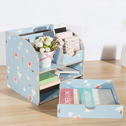 Boîte de rangement pour bureau en bois Boîte de rangement pour bureau Boîte de rangement pour bureau
