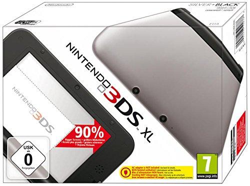 Console Nintendo 3DS XL - argenté & noir