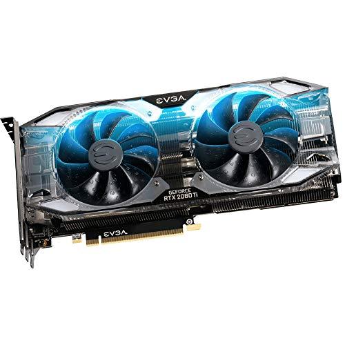 EVGA GeForce RTX 2080 Ti XC Ultra Gaming, 11G-P4-2383-RX, 11GB GDDR6, Dual HDB Fans & RGB...