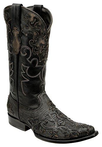 Cuadra Lizard Urban Western Boots 2B07LT (9 D(M) US, Dusty Gray)
