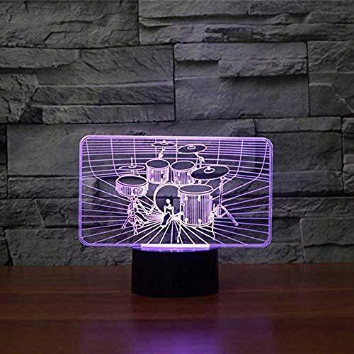 3D illusie nachtlampje Bluetooth Smart Control 7 & 16 M kleur mobiele app LED Vision Ballerina meisjes lamp USB tafel nachtslaap noviteit balletdroom unieke kleurrijke creatief GIF
