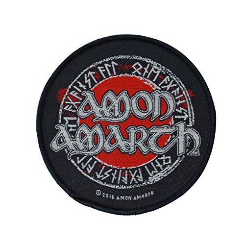 Rock Off Amon Amarth - Logo Circular (Toppa) Merchandising Ufficiale