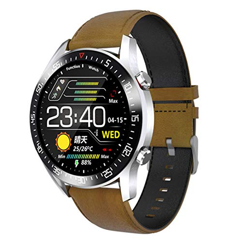 FZXL Smart Watch Hombre Y Femenino Pulsera Impermeable Moda Fitness Tracker Heart Rate Watch Sports Bluetooth para Teléfonos Android iOS,D