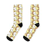 Milk And Mocha Bears laying down Socks Women& Men Sock, Patterned Sock