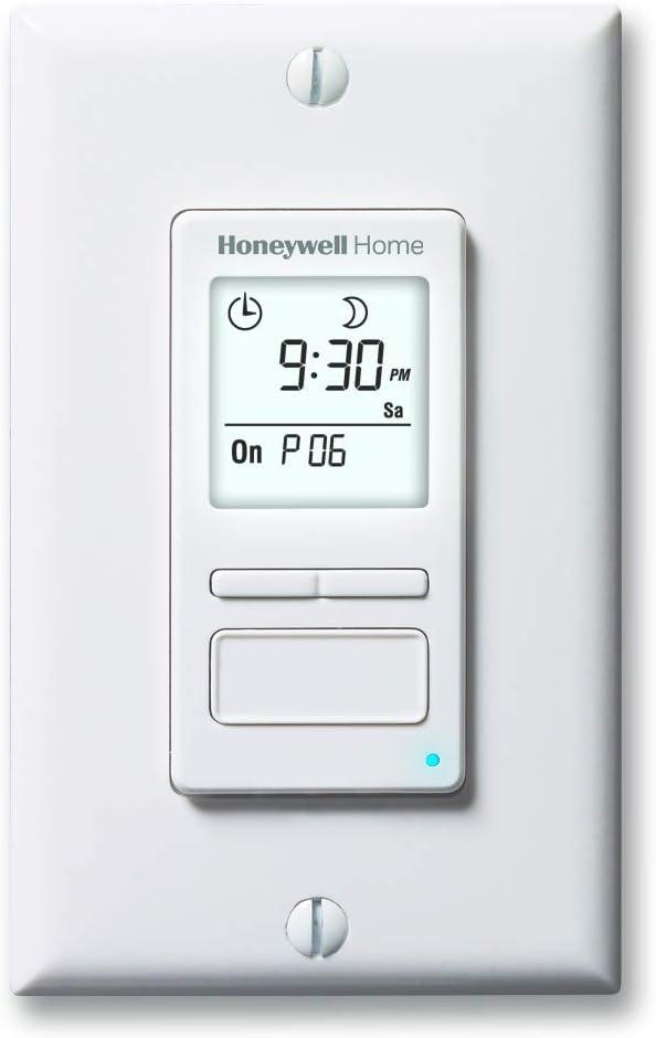 Honeywell Home Award RPLS740B1008 Econoswitch Over item handling ☆ Light Programmable 7-Day