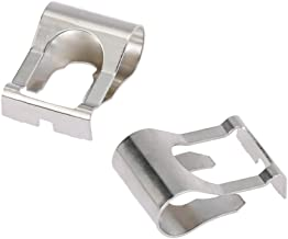 Walmeck Pair of Windscreen Wiper Motor Linkage Rods Arms Link Mechanism Repair Clip Kit