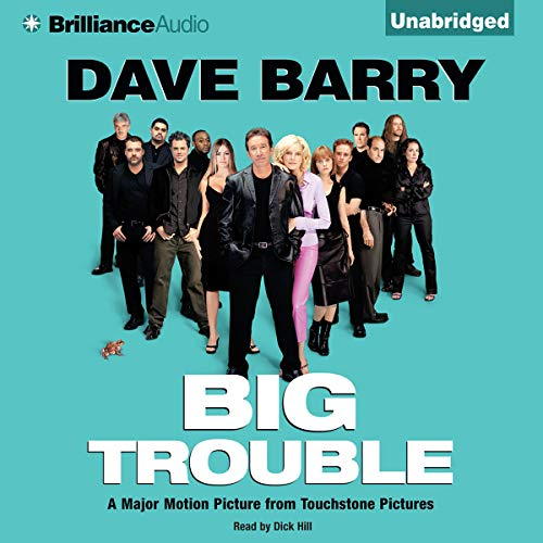 Big Trouble Audiobook By Dave Barry cover art
