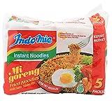 5. Indomie Mi Goreng Instant Stir Fry Noodles, Halal Certified, Original Flavor (Pack of 30)