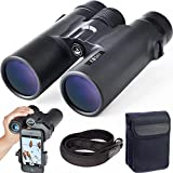 Gosky 10x42 Roof Prism Binoculars for Adults, HD Professional Binoculars for Bird Watching