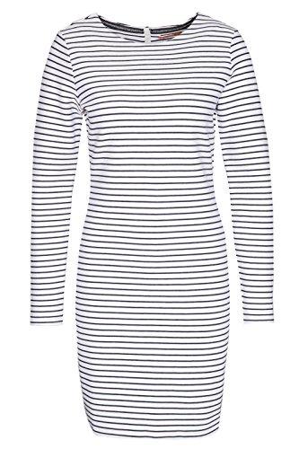 BOSS Damen Damarina Kleid, Blau (Dark Blue 406), 38 (Herstellergröße: M)