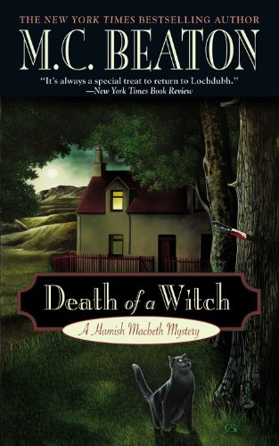 Death of a Witch (A Hamish Macbeth Mystery, 24) 0446615498 Book Cover