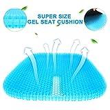 monroebaby Gel-Sitzkissen, die neueste große Größe, Waben-Design, Kissen mit Anti-Rutsch-Bezug,...
