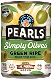 PEARLS Simply Olives Green Ripe Pitted...