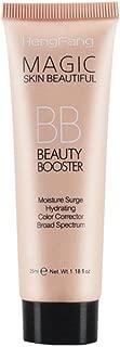 BB Facial Creams,Doinshop Liquid Foundation Concealer Blemish Balm highlight Dark Makeup Tool (A Ivory White)