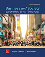 Business and Society: Stakeholders, Ethics, Public Policy, 16th Edition Front Cover