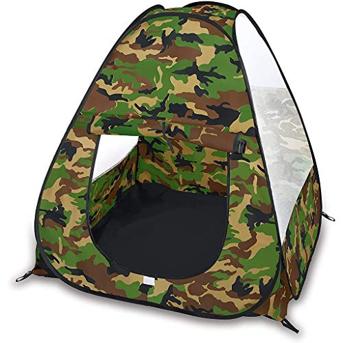 Kinderen Camouflage Tactics Tent, Simulation Game, Foldable Pop Up Binnen/Buiten Gamehouse/Playhouse Adventure Station