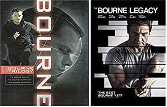 The Bourne Ultimate Collection 4-DVD Set - Bourne Identity/ Bourne Supremacy/ Bourne Ultimatum/ Bourne Legacy