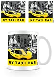 New York Taxi Cab Taza de cerámica en Caja de presentación