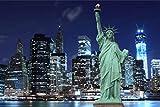 Poster Plakat Freiheitsstatue Harbor New York M91
