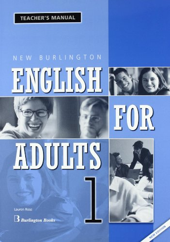 New English For Adults. Teacher's Manual - Number 1