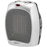 Amazon Basics 1500W Ceramic Personal Heater with Adjustable Thermostat
