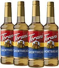 Torani Syrup Shortbread s Pack of, 25.4 Ounce, (Pack of 4)