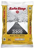 Safe Step Rock Salt Ice Melter Sodium Chloride (Rock Salt) Melts Ice Down To 5 F / -15 C 50 Lbs.