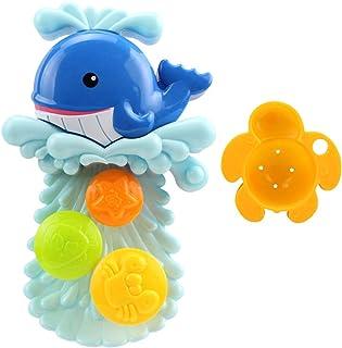 HOMYL Toddler Bath Toys Spray Bathing Tub Fountain Toys for Kid Hand Shower Bath Toy