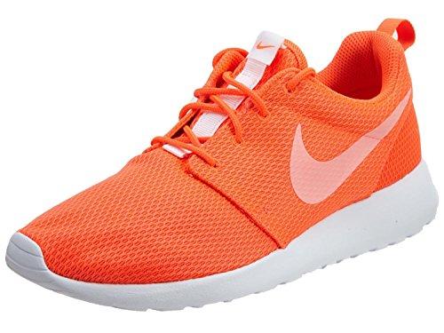 Nike Women's Roshe One Training Running Shoes, Orange (Total Crimson/White), 4.5 UK 38 EU