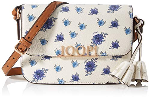 Joop! Damen uma shoulder bag (flap), offwhite, 20x12x7