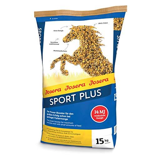 JOSERA Sport Plus (1 x 15 kg) | Premium Pferdefutter für Sportpferde | haferfrei | energiereiches Power-Müsli für Pferde in schwerer Arbeit | 1er Pack