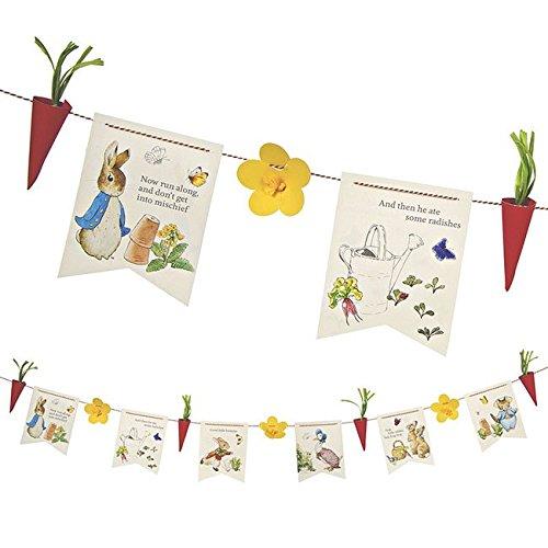 Occasions Direct - Festone decorato con disegni di Peter Rabbit