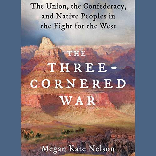 The Three-Cornered War audiobook cover art