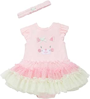 Little Me Tutu Popover with Headband Butterfly