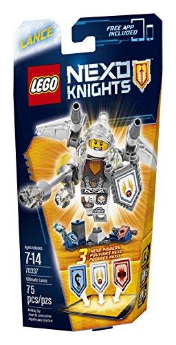 LEGO Nexo Knights 70337 Ultimate Lance Building Kit (75 Piece)