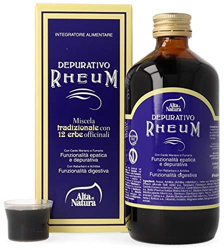 Alta Natura Integratore Alimentare Depurativo Rheum Color Standard 250 Ml