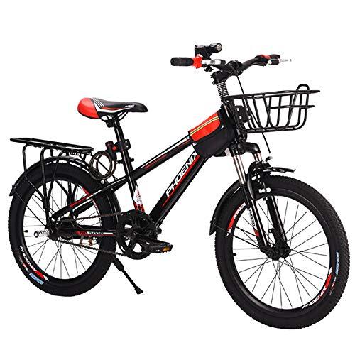 Axdwfd Infantiles Bicicletas Bicicleta para niños Boys and Girls Ciclismo, Adecuado para niños de 9 a 14 años, Azul, Azul. (Color : Red)